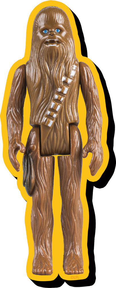 Star Wars Chewbacca Af Funky Chunky Magnet - Star Wars Chewbacca Action Figure Funky Chunky Magnet