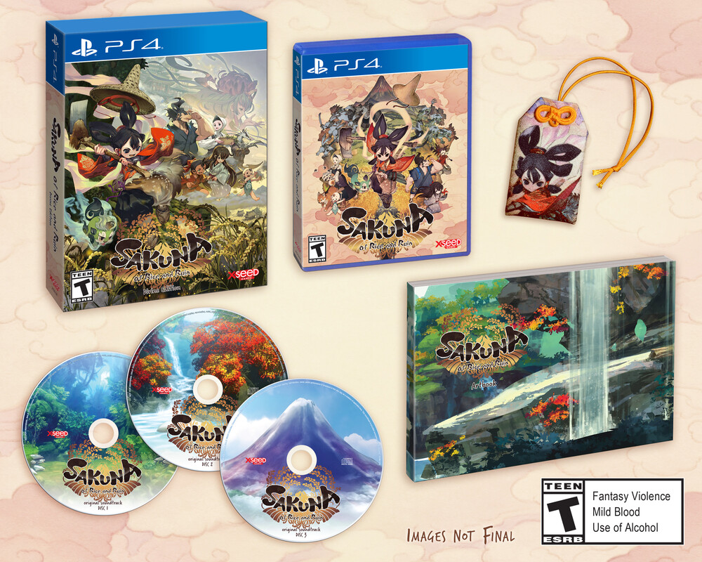 Ps4 Sakuna: Of Rice and Ruin - Devine Edition - Ps4 Sakuna: Of Rice And Ruin - Devine Edition