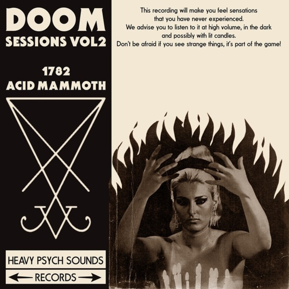 1782 / Acid Mammoth - Doom Sessions 2 [Colored Vinyl] (Purp)