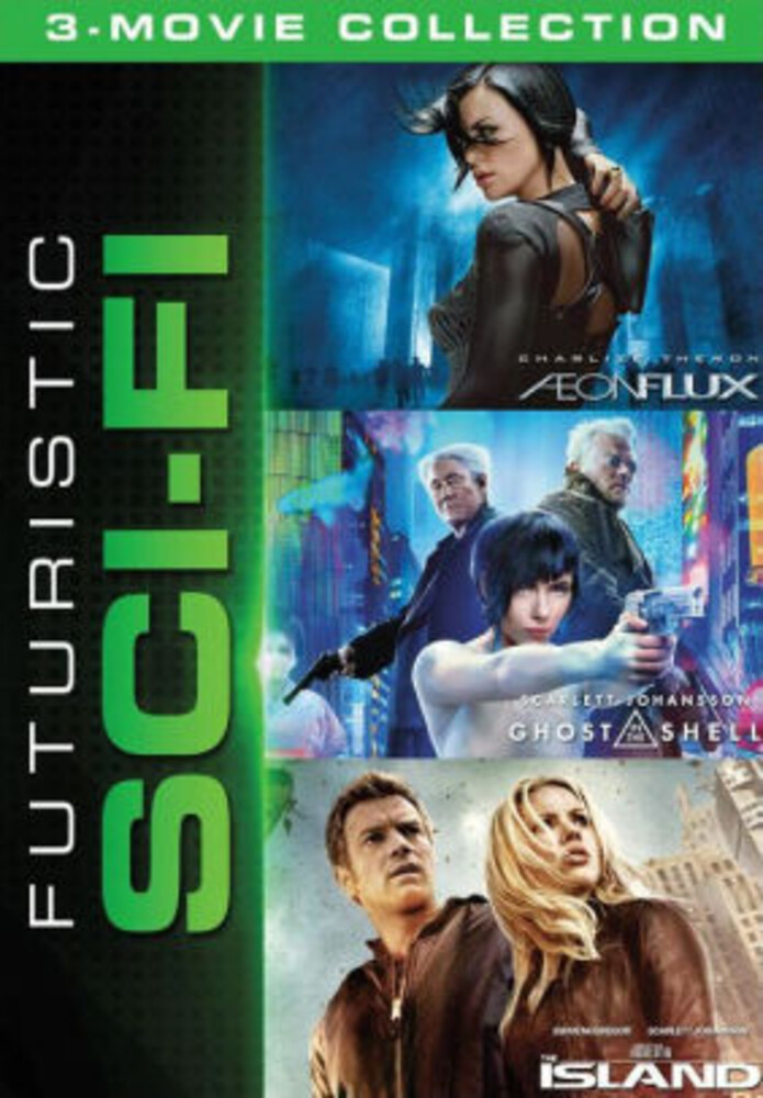 Futuristic Sci-Fi 3-Movie Collection - Futuristic Sci-Fi 3-Movie Collection (3pc) / (3pk)