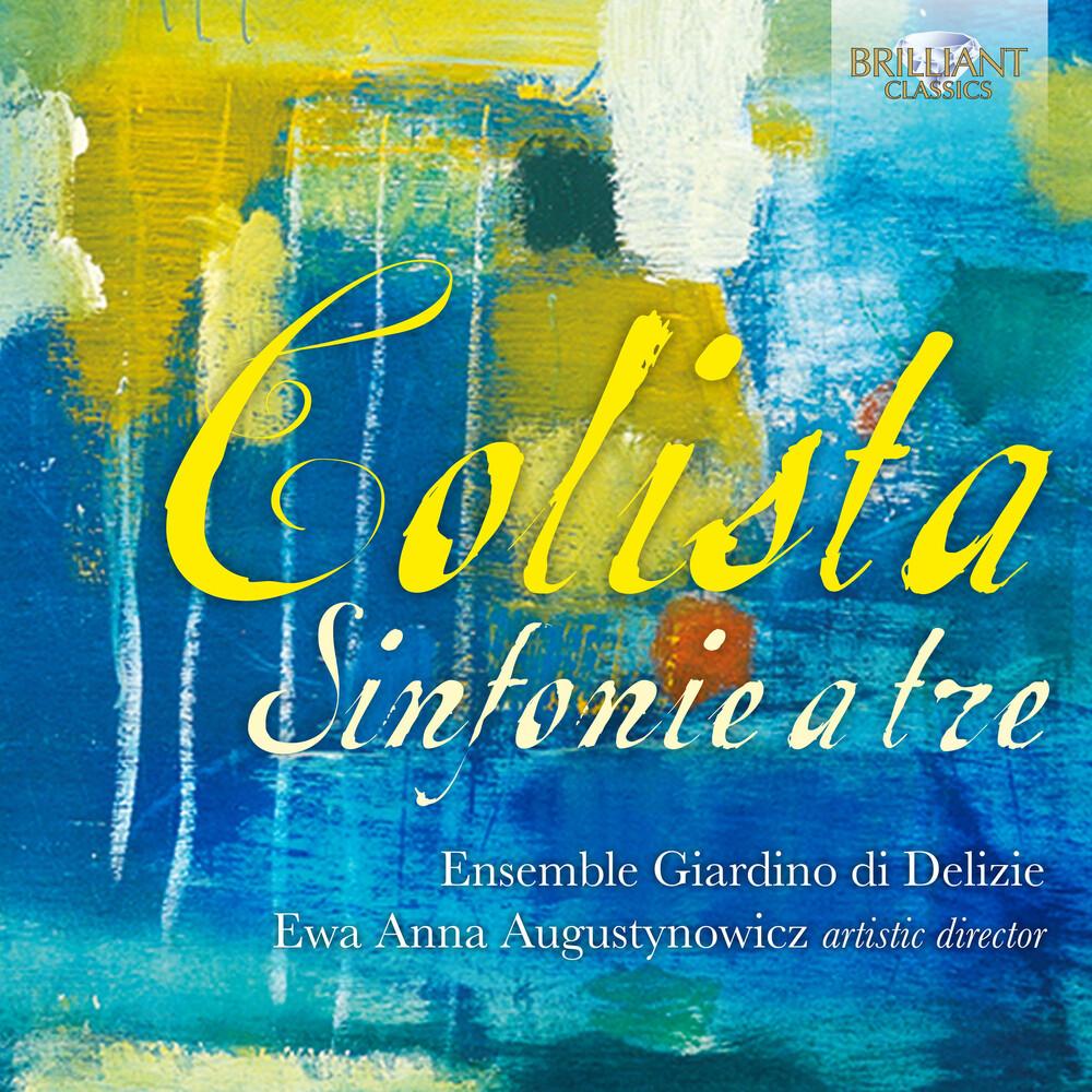 Colista / Ensemble Giardino Di Delizie - Sinfonie A Tre