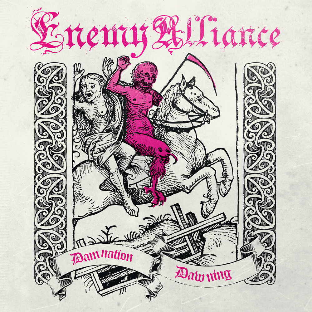 Enemy Alliance - Damnation Dawning (Rosa Vinyl)