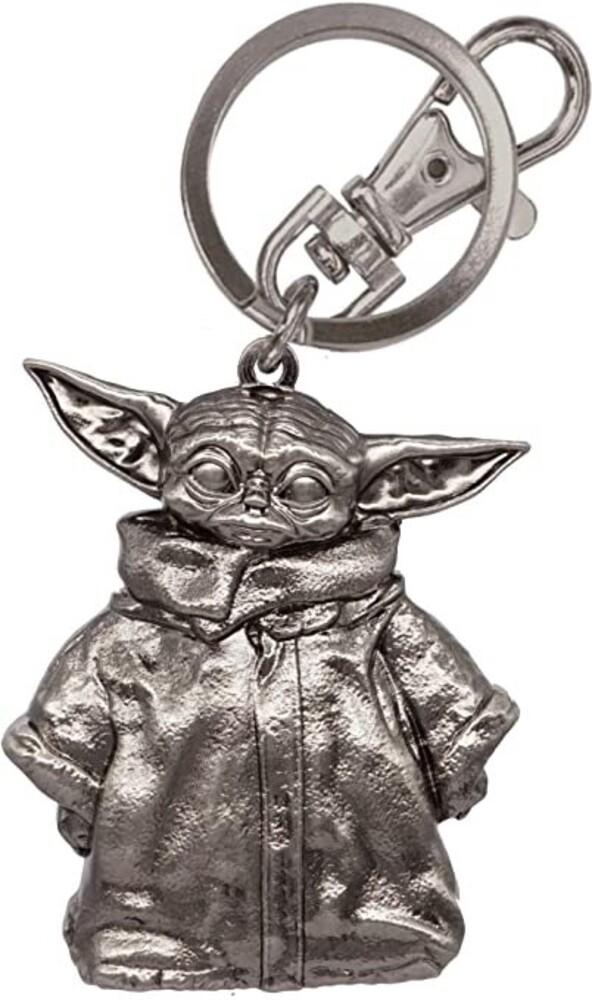 Star Wars - the Mandalorian Child Pewter Key Ring - Star Wars - The Mandalorian The Child Pewter Key Ring