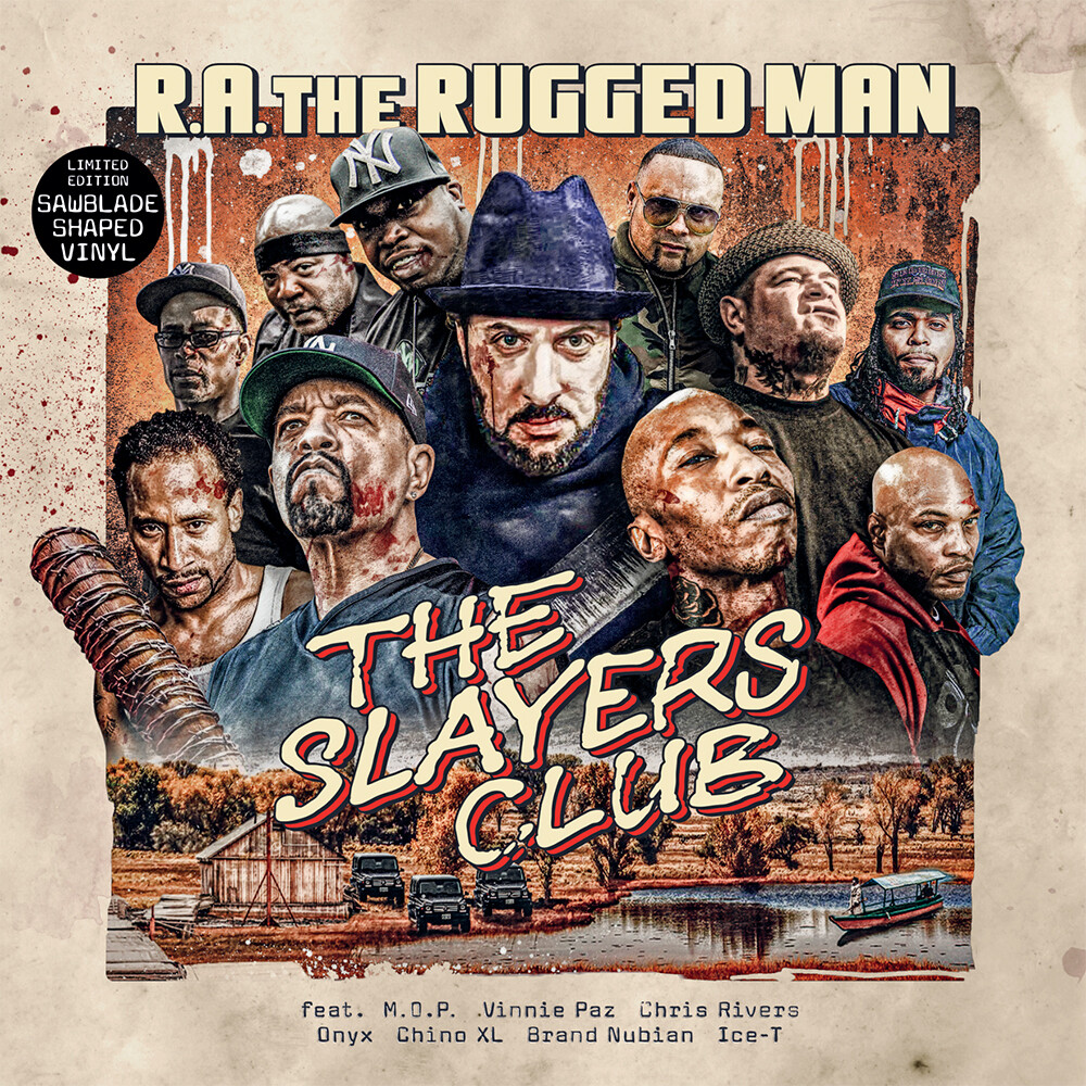 RA The Rugged Man - Slayers Club (10in)