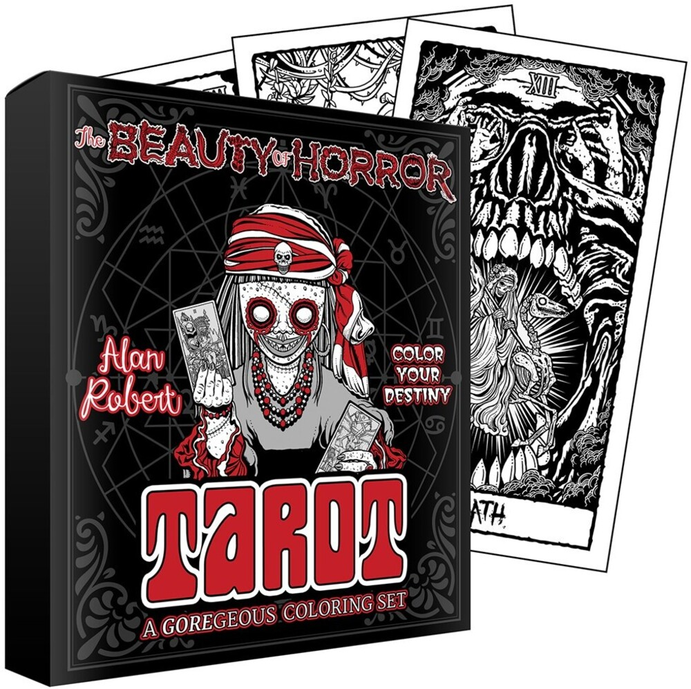 - The Beauty of Horror: Color Your Destiny Tarot Deck