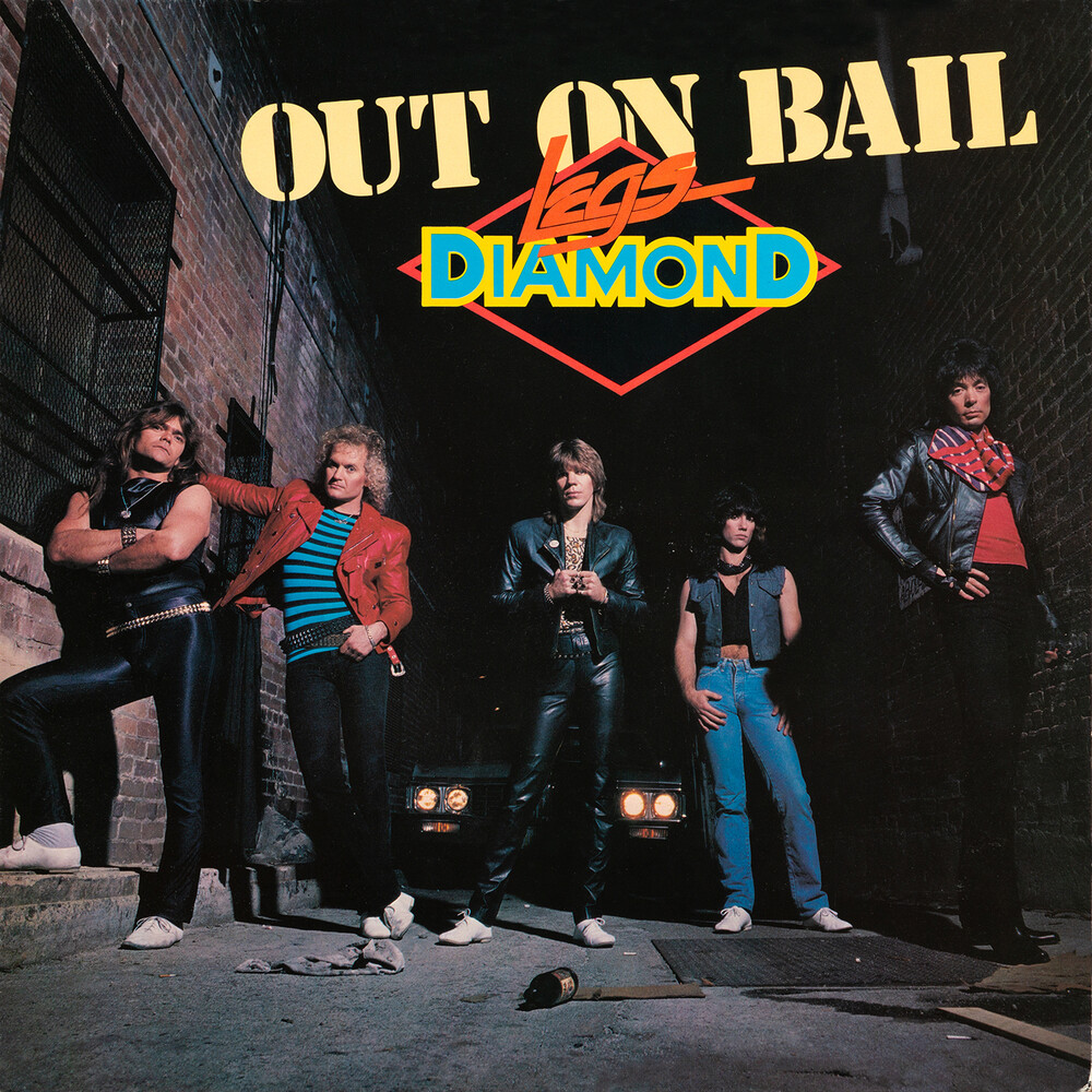 Legs Diamond - Out On Bail (Bonus Tracks) [Deluxe] [With Booklet] (Coll) (Uk)