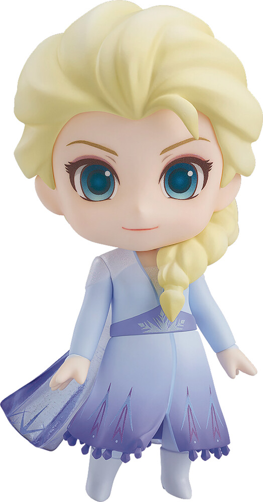 Good Smile Company - Good Smile Company - Disney Frozen 2 Elsa Nendoroid Action Figure BlueDress Version