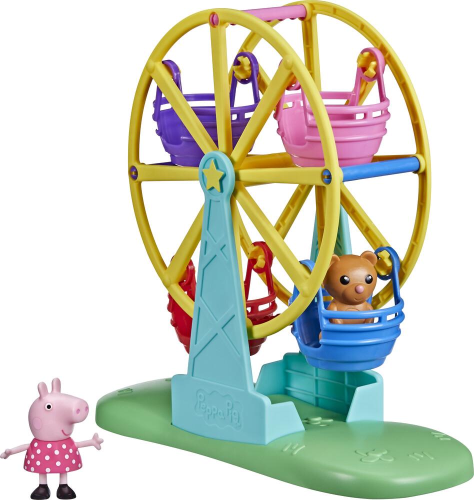 Pep Ferris Wheel Fun - Hasbro Collectibles - Peppa Pig Ferris Wheel Fun