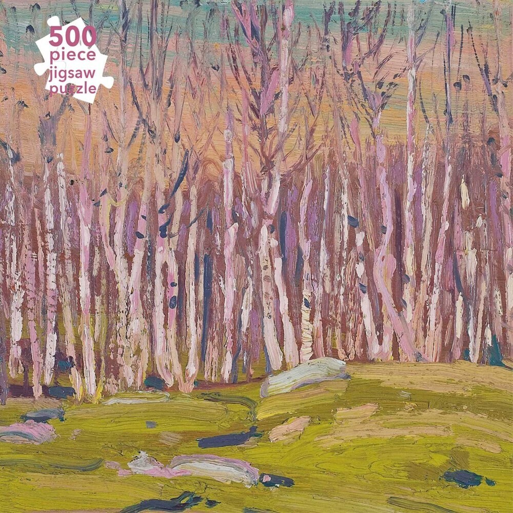 Flame Tree Studio - Adult Jigsaw Puzzle Tom Thomson: Silver Birches: 500-piece JigsawPuzzle