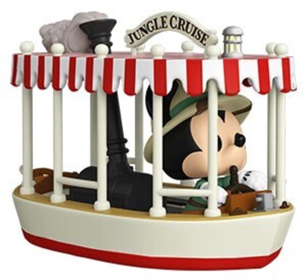 - Jungle Cruise- Skipper Mickey W/Boat (Vfig)