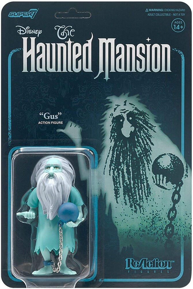 Haunted Mansion Reaction Wave 1 - Prisoner Ghost - Super7 - Haunted Mansion ReAction Figure Wave 1 - Prisoner Ghost