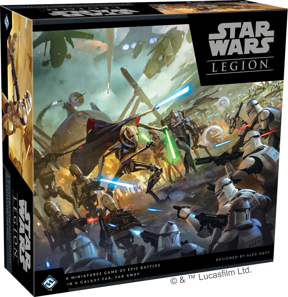 Star Wars Legion Clone Wars Core Set - Star Wars Legion Clone Wars Core Set A Miniatures Game Of Epic Battles In A Galaxy Far, Far Away