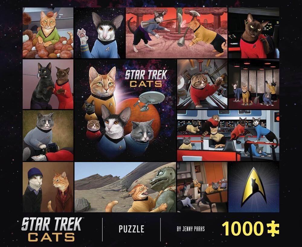 - Star Trek Cats 1000 Piece Puzzle
