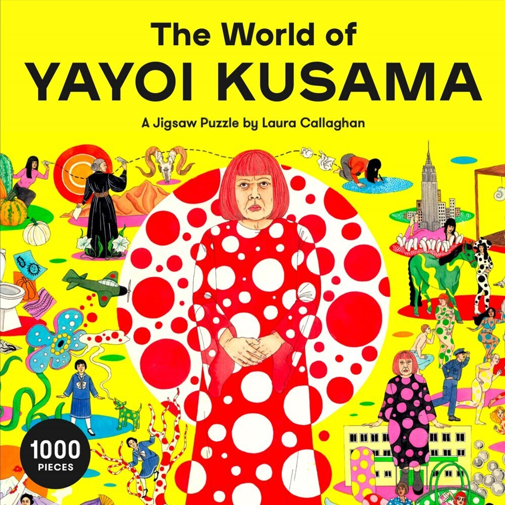 - The World of Yayoi Kusama: A 1000 Piece Jigsaw Puzzle