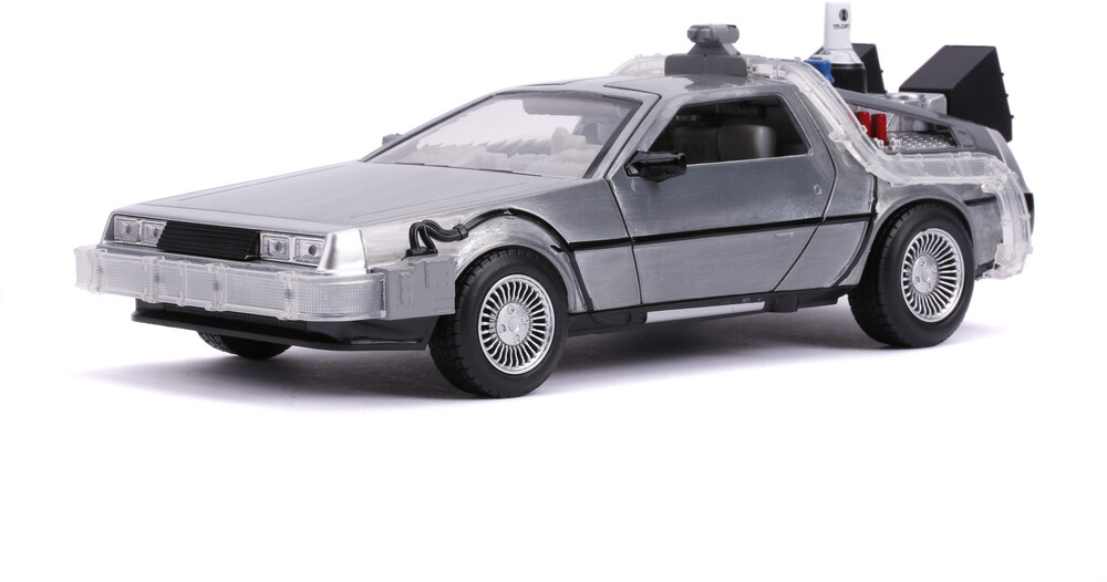 - Jada 1:24 Diecast Back to the Future 2 Time Machine With Lights