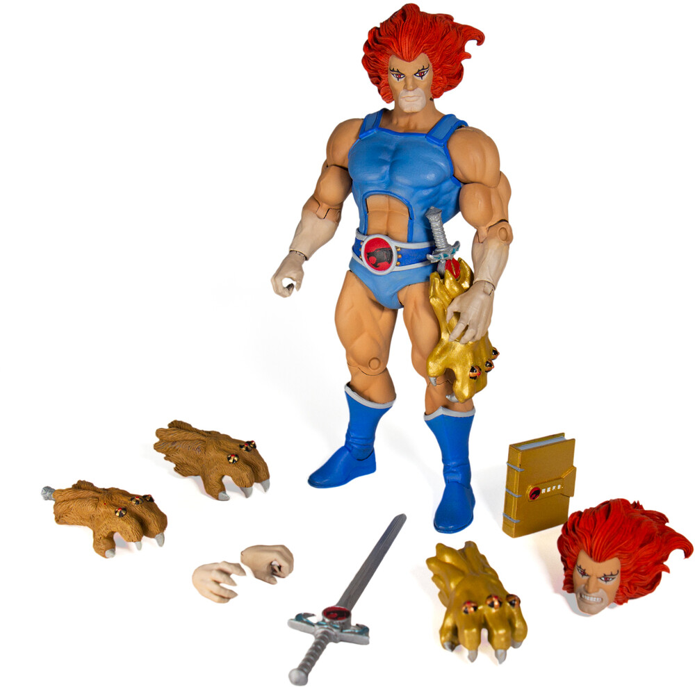 - Super7 - Thundercats ULTIMATES! Figure - Lion-O (Reissue Collection)