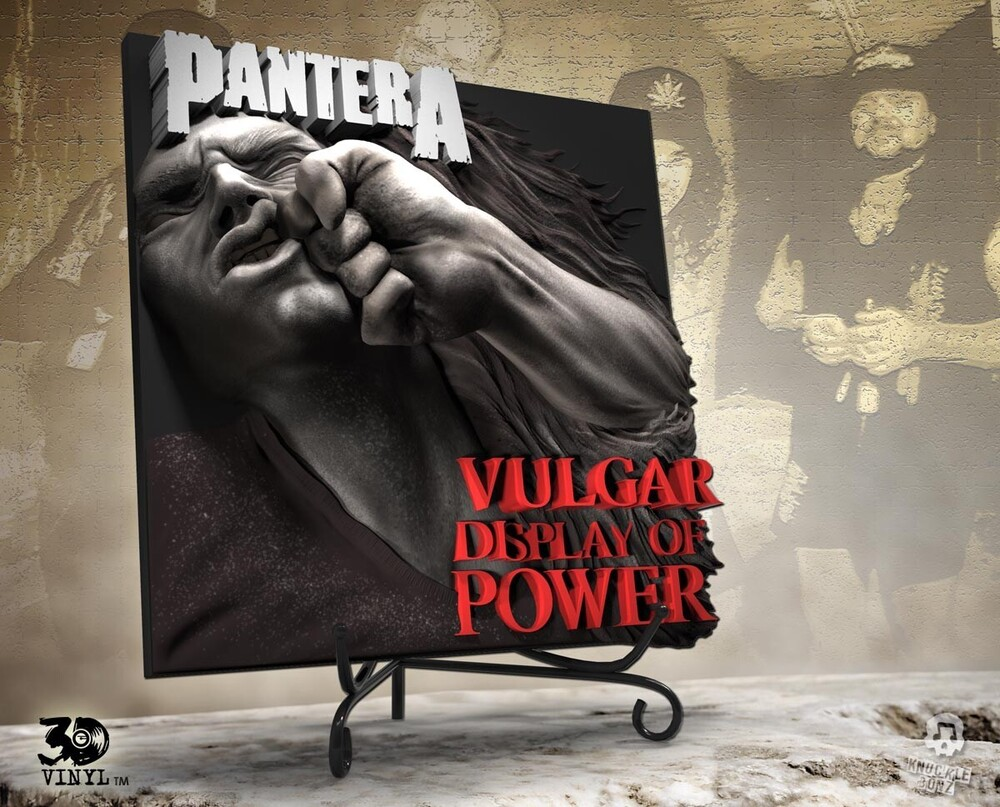 - Knucklebonz - Pantera (Vulgar Display of Power) 3D Vinyl