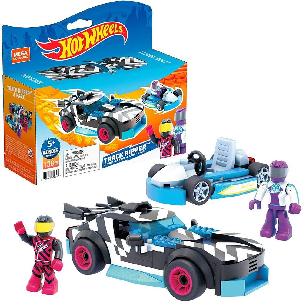 - Mega Brands - Hot Wheels Track Ripper & Kart Construction Set