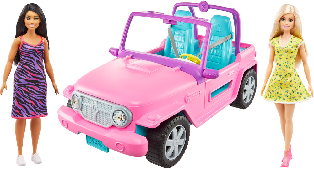 - Mattel - Barbie and Friend Vehicle