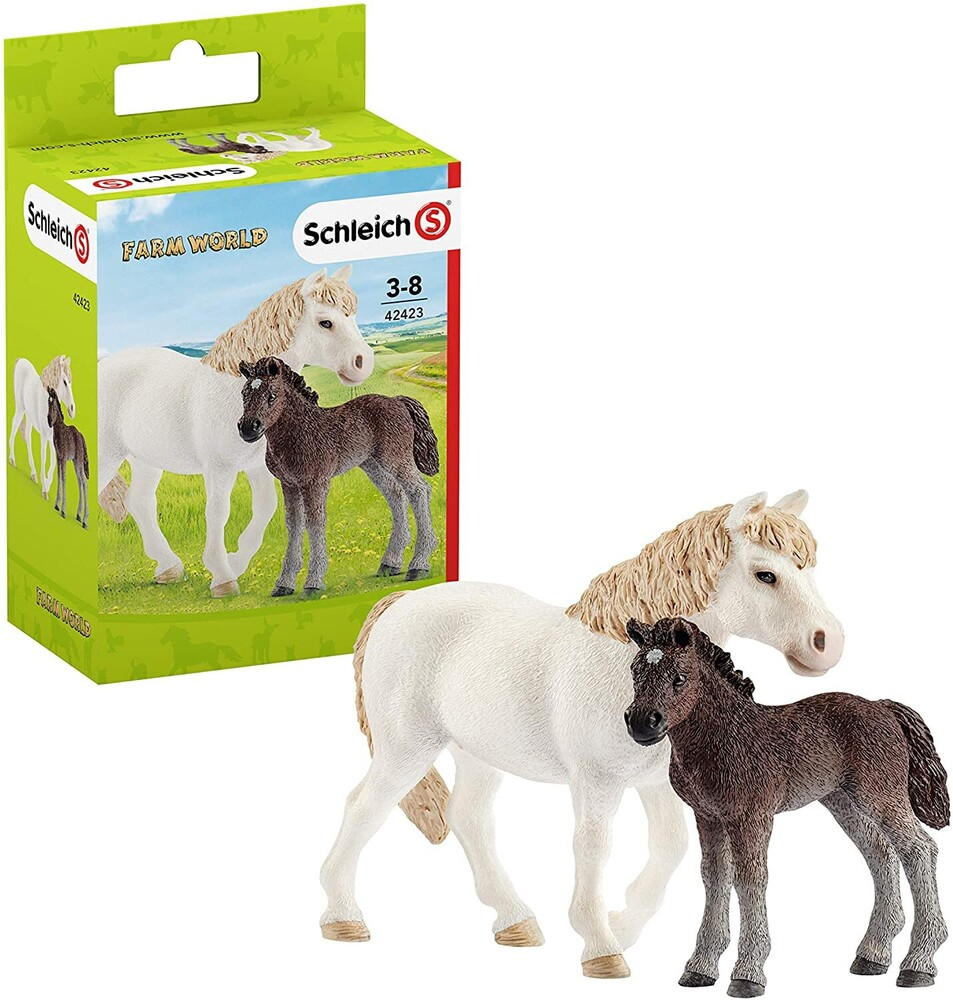 - Schleich Pony, Mare and Foal