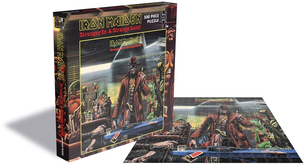 - Iron Maiden Stranger In A Strange (500 Pc Puzzle)