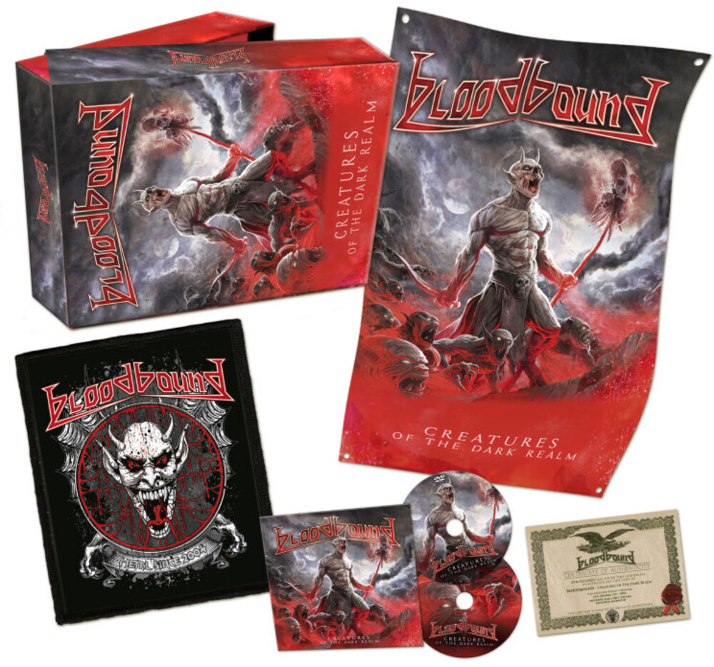 Bloodbound - Creatures Of The Dark Realm (Cd+Dvd Boxset) (Box)