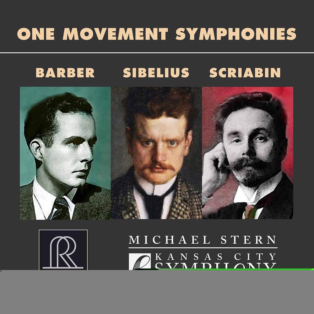Barber / Stern / Kansas City Symphony - One Movement Symphonies