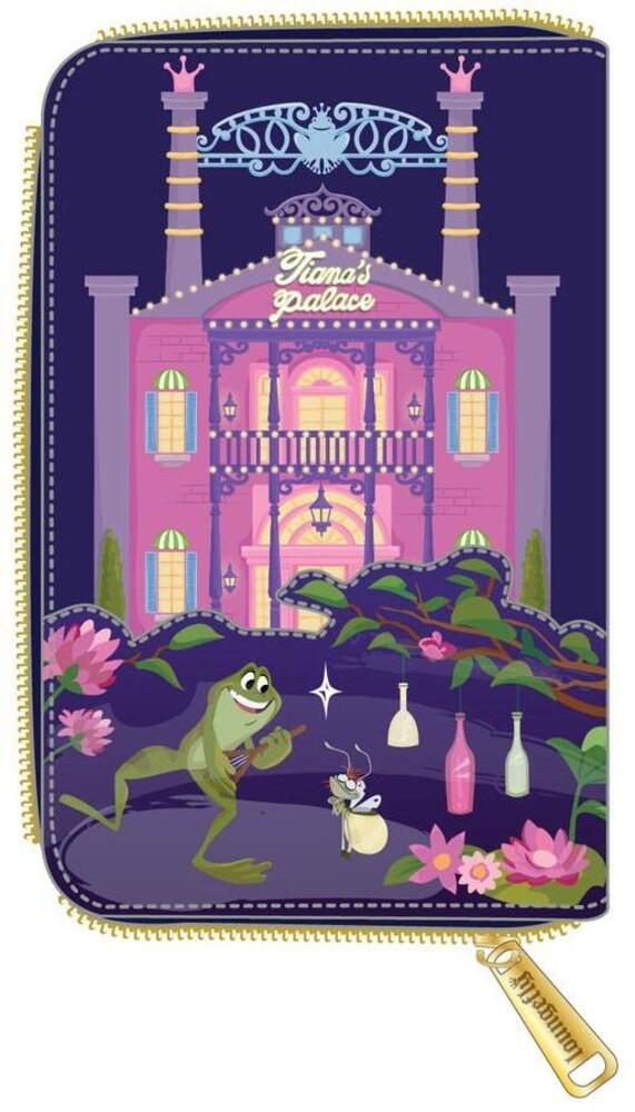 Loungefly Disney: - Princess And The Frog Tiana's Palace Zip Around Wa