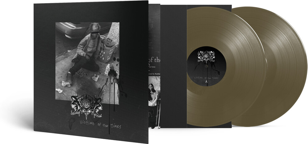 Xasthur - Victims Of The Times (Gold Vinyl) [Colored Vinyl] (Gol)
