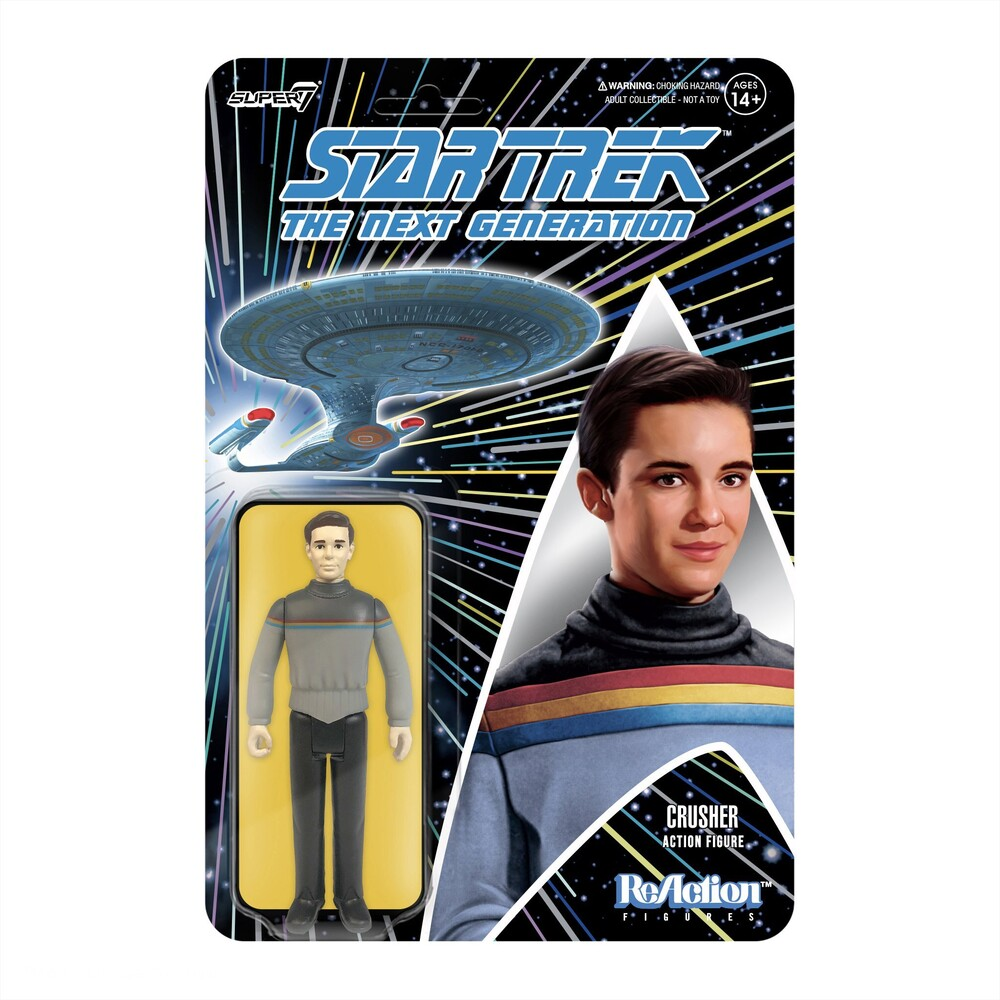 Star Trek: Tng Reaction Wave 1 - Wesley Crusher - Star Trek: Tng Reaction Wave 1 - Wesley Crusher