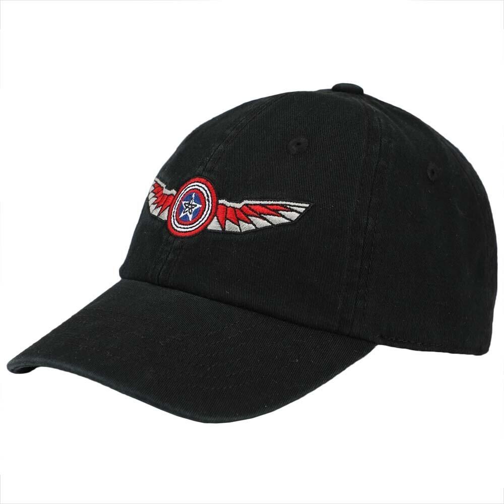 - Marvel Falcon & Winter Soldier Adj Baseball Cap