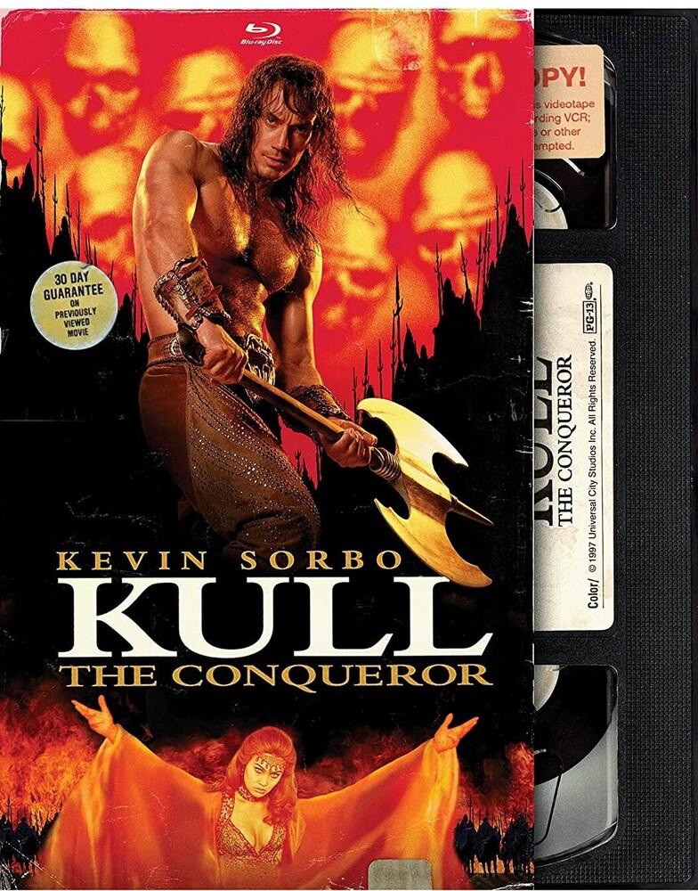 Kull the Conqueror - Retro Vhs Bd - Kull The Conqueror - Retro Vhs Bd