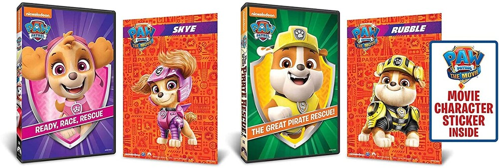 - Paw Patrol: Ready Race Rescue / Great Pirate (2pc)