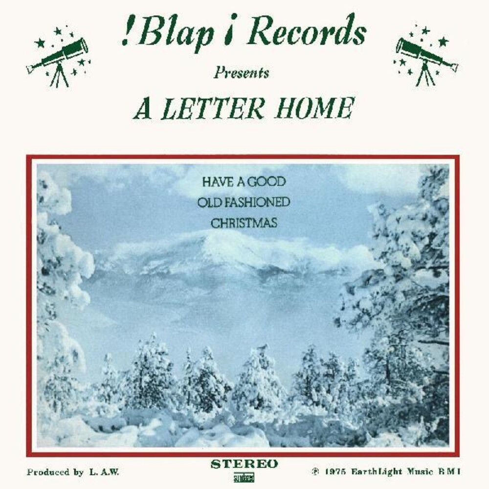 Letter Home - Have A Good Old Fashioned Christmas