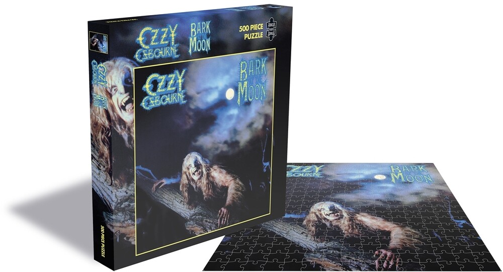 Osbourne, Ozzy Bark at the Moon (500 Piece Puzzle) - Ozzy Osbourne  Bark At The Moon (500 Piece Puzzle)