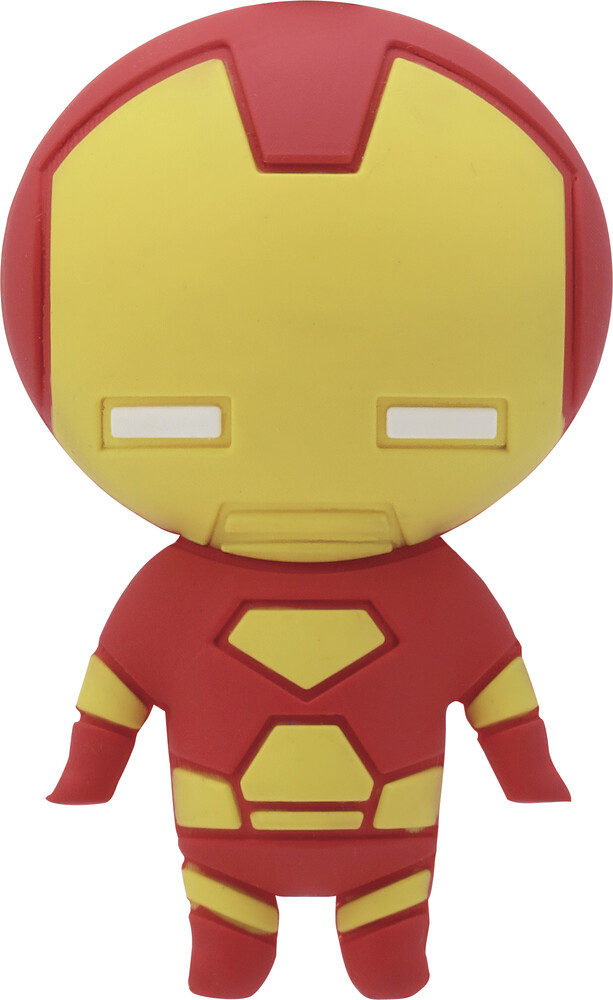 Iron Man 3D Foam Magnet - Iron Man 3d Foam Magnet (Mag)