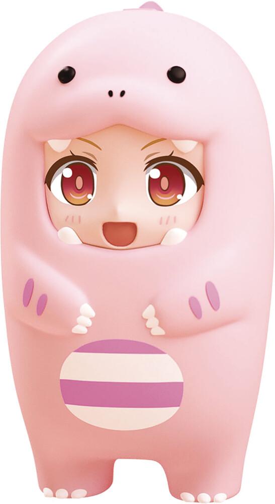 Good Smile Company - Nendoroid More Face Parts Case Pink Dinosaur Ver