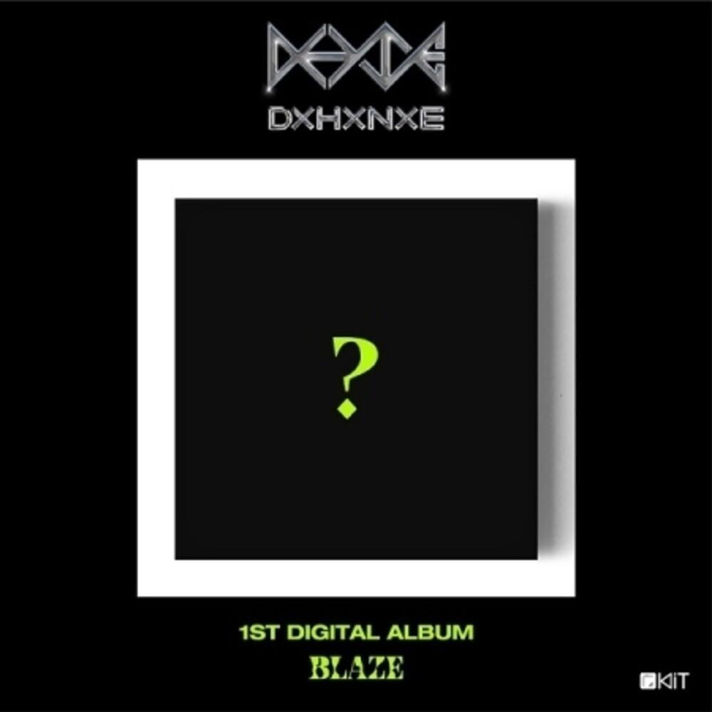 Do Han SE - Blaze (Kit Album) (Pcrd) (Phot) (Asia)