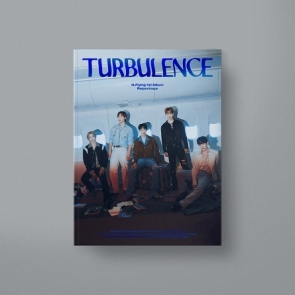 N.Flying - Turbulence (incl. 120pg Photobook, Photo Postcard, Ticket Photocard + Selfie Photocard)
