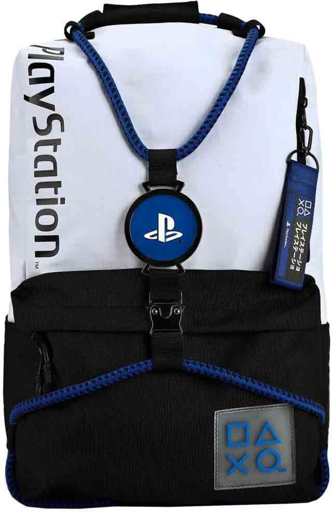 Playstation Laptop Bungee Backpack - Playstation Laptop Bungee Backpack (Back) (Mult)