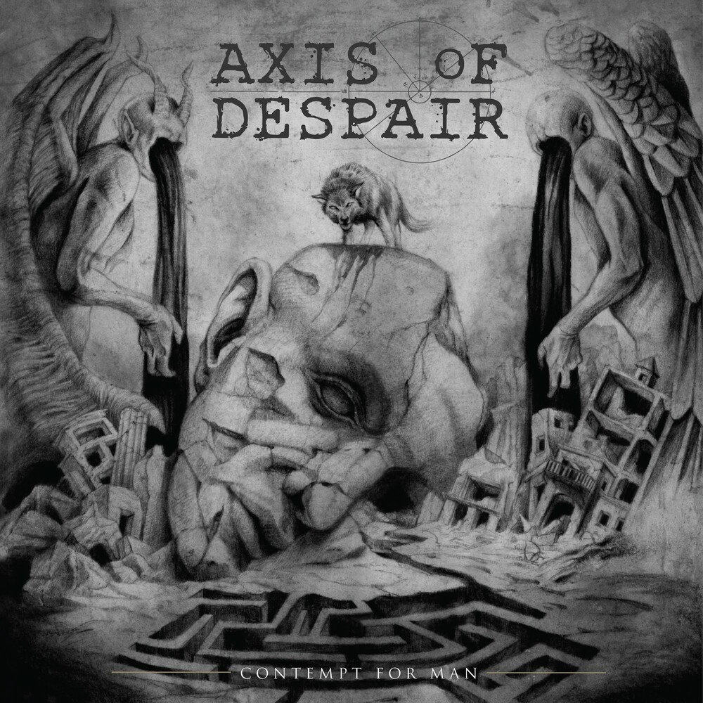 Axis Of Despair - Contempt For Man [LP]