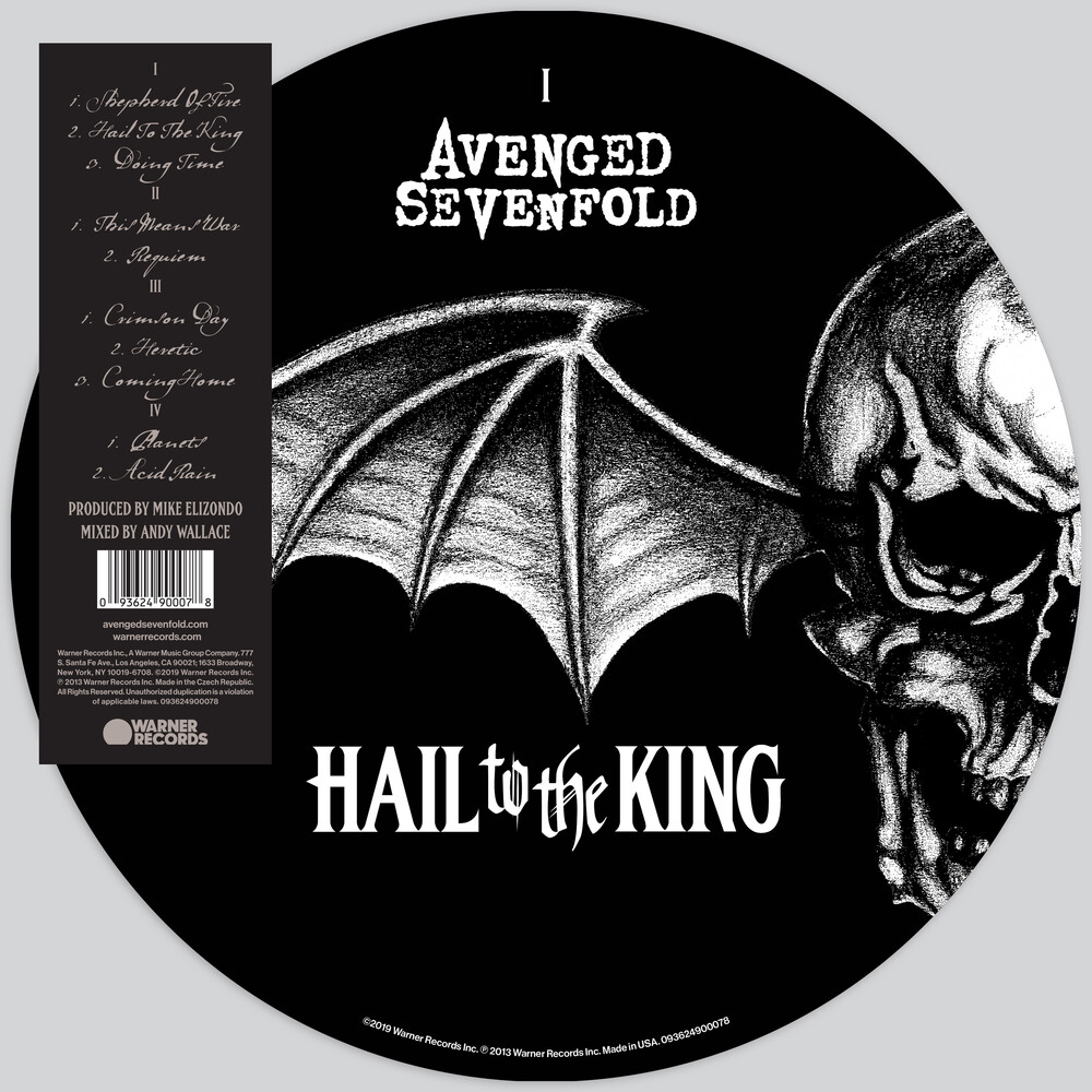 Avenged Sevenfold - Hail To The King [Picture Disc 2LP]