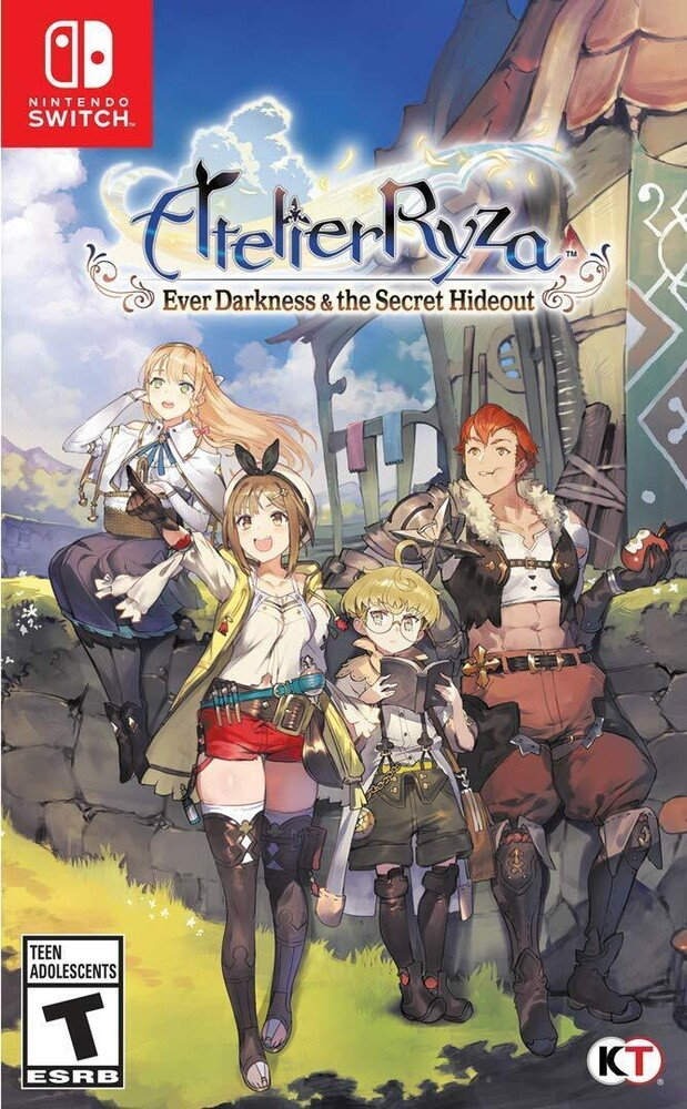 Swi Atelier Ryza: Ever Darkness & Secret Hideout - Atelier Ryza: Ever Darkness & Secret Hideout