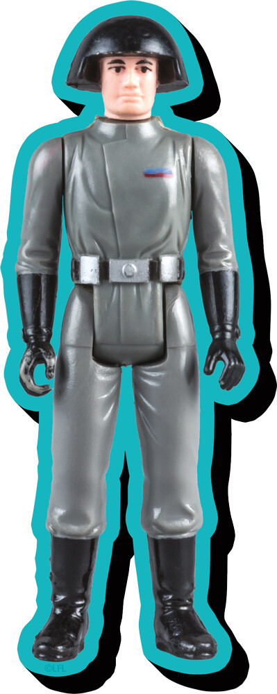 Star Wars Death Squad Commander Af Chunky Magnet - Star Wars Death Squad Commander Action Figure Funky Chunky Magnet