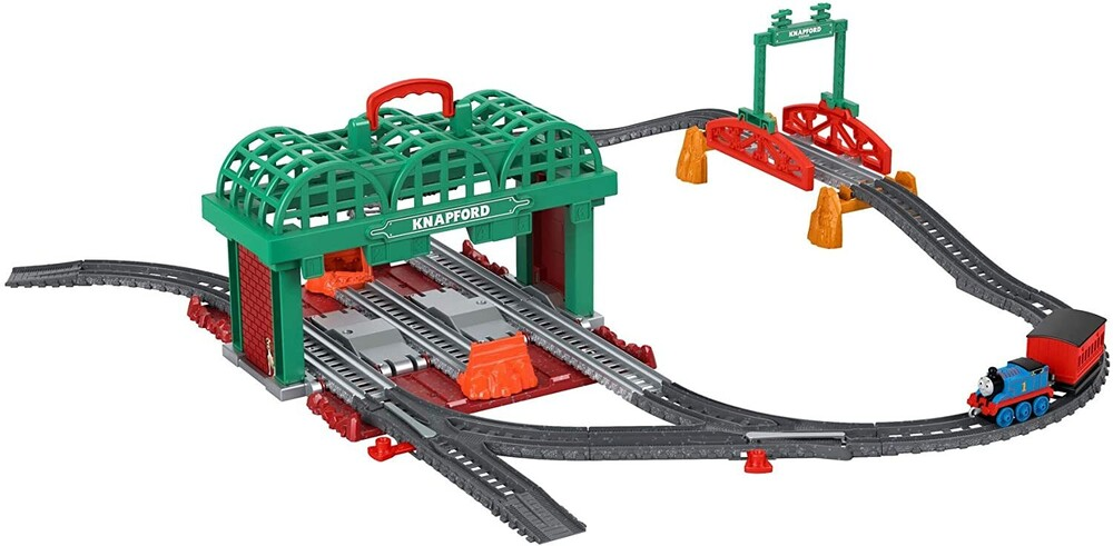 Thomas and Friends - Fisher Price - Thomas and Friends Knapford Station Starter Push Along Playset Fall