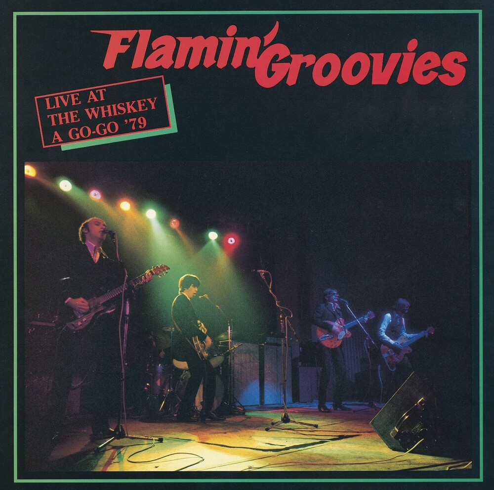 Flamin Groovies - Live At The Whiskey A Go-Go '79 (Red) (Iex)