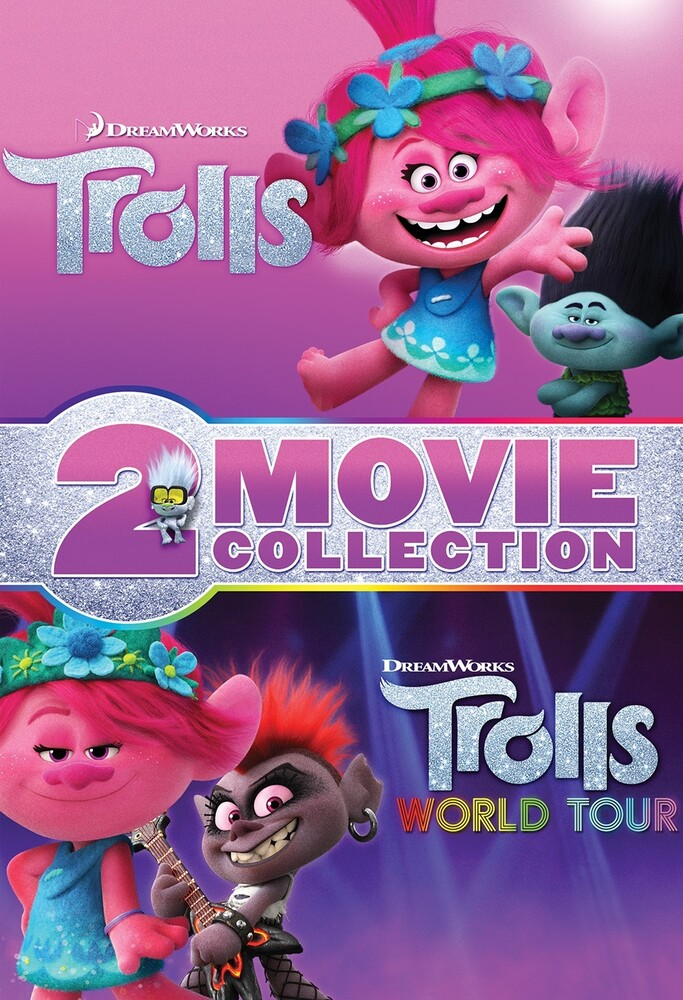 Trolls [Movie] - Trolls / Trolls World Tour 2-Movie Collection