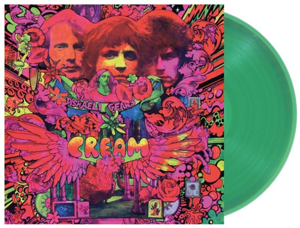 Cream - Disraeli Gears [Clear Vinyl] [Limited Edition]