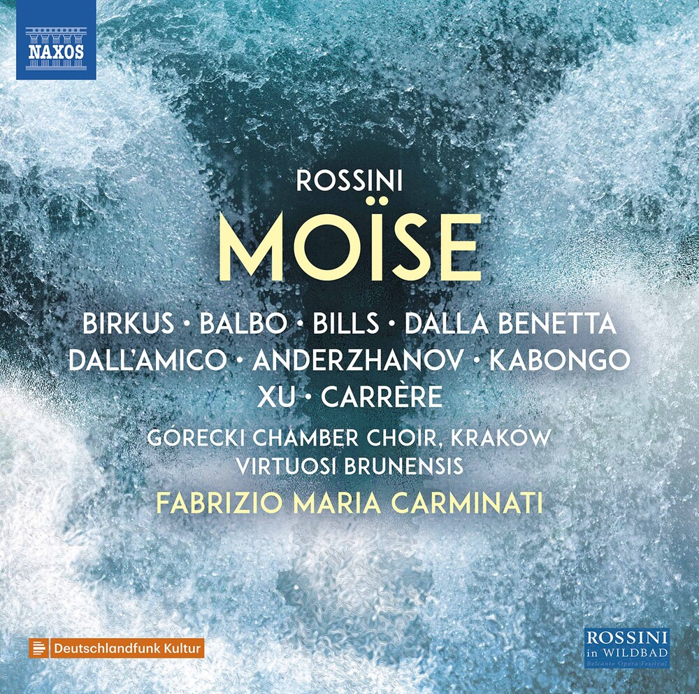 Rossini / Gorecki Chamber Choir / Carminati - Moise (2pk)