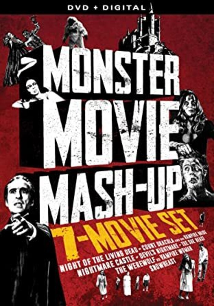 Monster Mashup Collection: 7 Pack DVD - Monster Movie Mashup - 7 Film Collection (2pc)